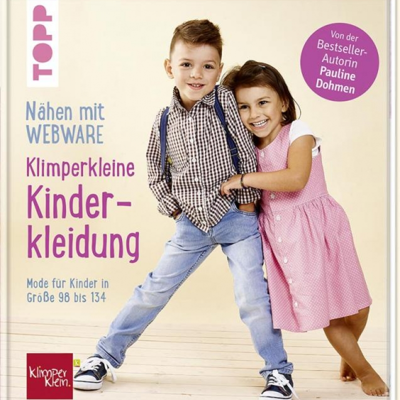 Nähen mit Webware: Klimperkleine Kinderkleidung