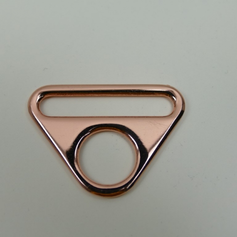 O-Ring mit Steg 40mm roségold
