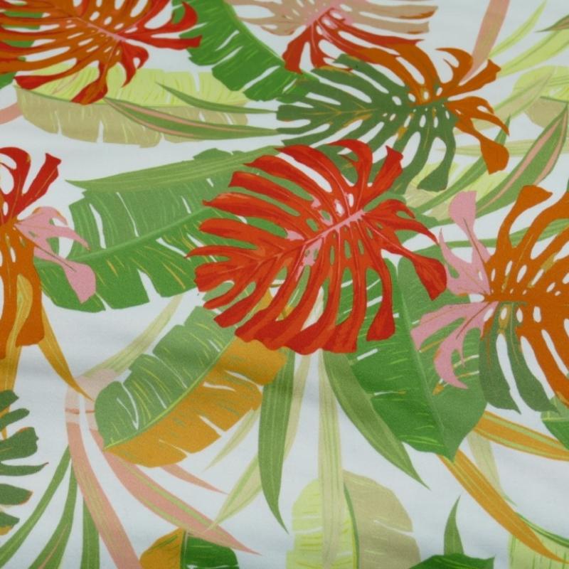 Stretchpopeline Blätter