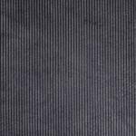 Cord mit Fellabseite Blau