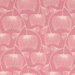Jersey Line Flowers rosa