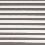 French Terry Streifen Grau-Weiß