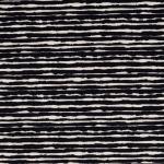 Jersey Broken Stripes schwarz
