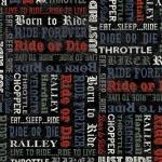 Born to Ride Schrift