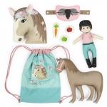 """Kullaloo Cut&Sew Panel """"Horse Love"""""""