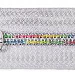 Spiralreißverschluß Regenbogen