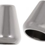 Kordelenden metall 8mm