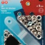 Prym Ösen 5mm silber
