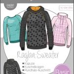 Damen Basic Raglan Sweater