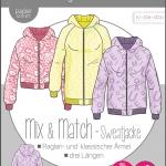 Damen Mix&Match Sweatjacke