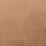 Baumwolle Vichy Karo Altrosa