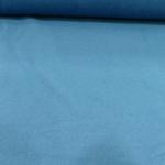 Bio Baumwoll Fleece Petrol-Blau