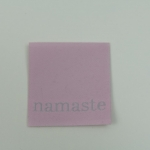 Applikation namaste, rosa