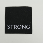 Applikation Strong, schwarz