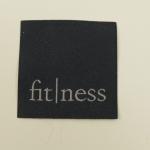 Applikation fitness, anthrazit
