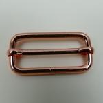 Leiterschnalle 40mm roségold