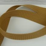 Gurtband 30mm dunkelbeige
