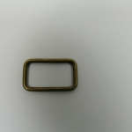 Schlaufe 25mm altmessing