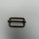 Leiterschnalle 25mm altmessing