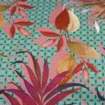 Viscosejersey Blätter