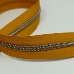Reißverschluss metallisiert Golden Wheat