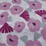 Jersey Big Flowers rosa
