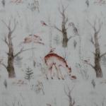 Musselin Winterwald
