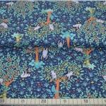 Baumwolldruck Sofia Faultier