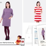 Schnittmuster Stacey A-Linien-Kleid