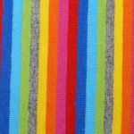 Baumwoll Jersey Multi Streifen